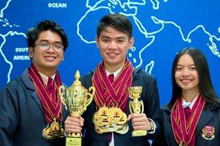 3 estudyante mula Batangas, wagi sa World Scholar's Cup sa Yale University