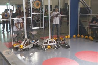 Public high school students, nagtagisan sa DOST robotics competition