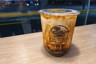 Taiwan's famous JLD Dragon milk tea shop opens in PH: What to expect