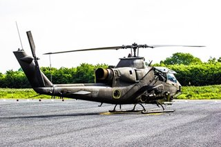 PH gets 2 Cobra attack helicopters from Jordan