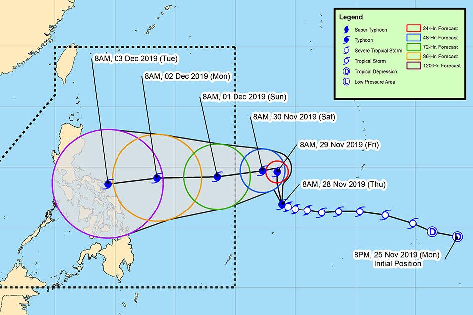NDRRMC warns Kammuri may become super typhoon, tells public to prepare 2