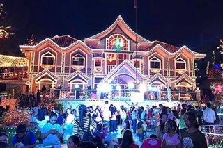 TINGNAN: 6,000 Christmas lights sa munisipyo sa Carmen, Agusan del Norte