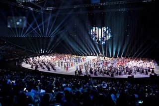 SEA Games opening: Awe at PH Arena, lockdown at Clark