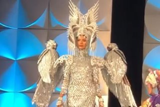 WATCH: Gazini Ganados' gown, costume at Miss Universe inspired by Philippine Eagle