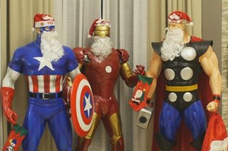 SILIPIN: Marvel superheroes tema ng bahay sa Binangonan para sa Pasko