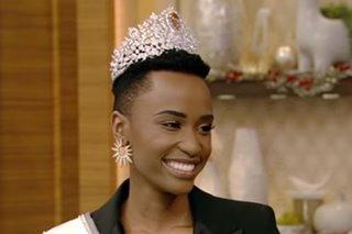 WATCH: Media week kicks off for new Miss Universe Zozibini Tunzi