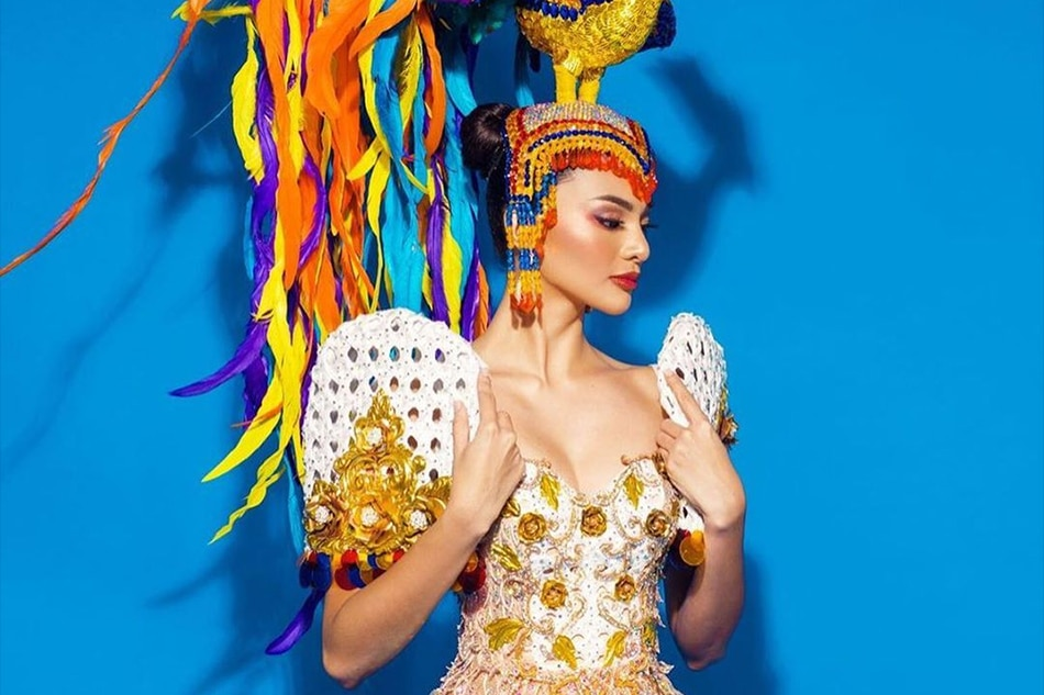 LOOK: PH bet Emma Tiglao in national costume for Miss Intercontinental 2019