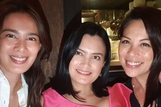 'F!' hosts Angel Aquino, Daphne Osena, Cher Calvin reunite after 10 years