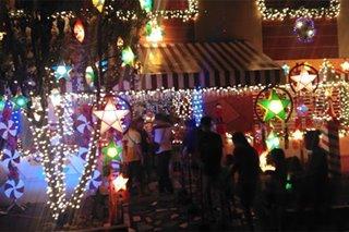 Christmas fantasy house sa Leyte dinarayo ng mga turista