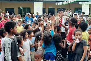 'Filipino Mr. Bean' brings joy to kids and a message of hope this Christmas