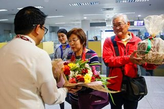 DOT: Japanese woman is 8 millionth foreign tourist to arrive in PH