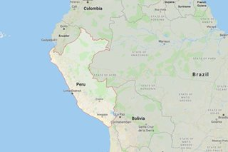 Strong earthquake hits Peru - USGS