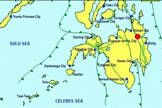 Quakes jolt eastern Mindanao on New Year's Day, no damage reported
