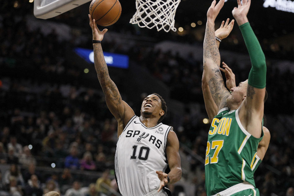 National Basketball Association wrap: Spurs use 46-point third quarter to beat Celtics