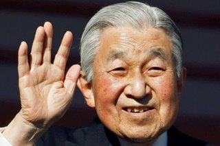 Tears as Japan emperor gives last New Year's address