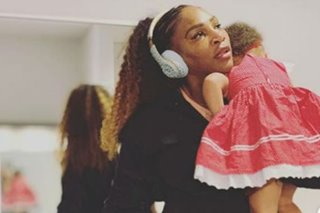 Serena Williams in inspirational message to working moms