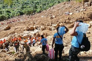 Search and rescue continues in CamSur town