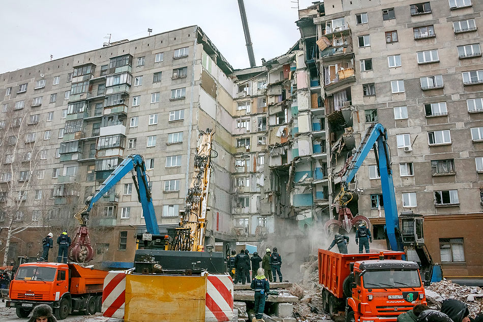 Death toll in Russian building collapse rises to 38