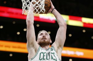 NBA: Celtics' Hayward explodes for 35 in beating Wolves