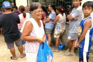 Food packs ipinamahagi sa mga nasalanta ng Usman