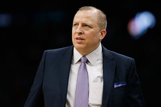 Timberwolves fire Thibodeau: reports