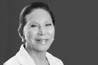 Marinduque Governor Carmencita Reyes passes away
