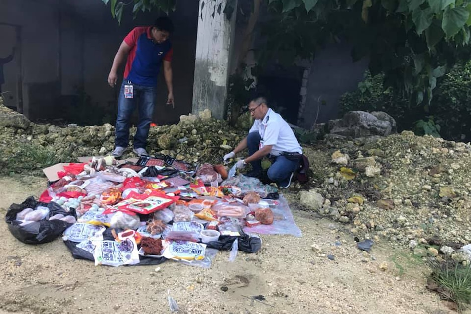 Seized imported meat destroyed in Cebu 1