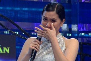 WATCH: Mariel Padilla cries as subject of motherhood comes up