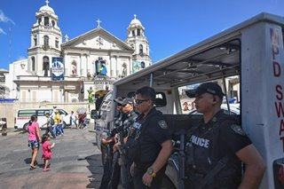 Increased security for 2019 Traslacion