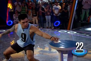 WATCH: The moment Zeus won P1-million on 'Minute to Win It'