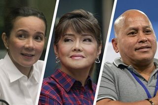 Poe leads, Imee and 'Bato' with 'statistical chance' of Senate win: Pulse Asia