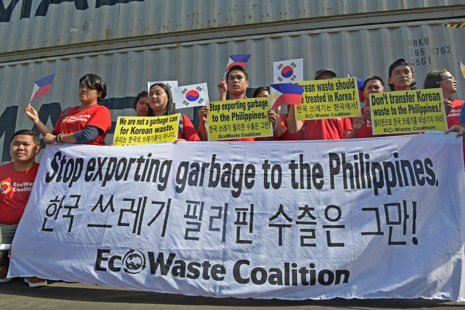 PH is not a garbage dump