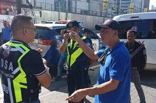 Bus driver na sinita nanakit umano ng MMDA enforcer