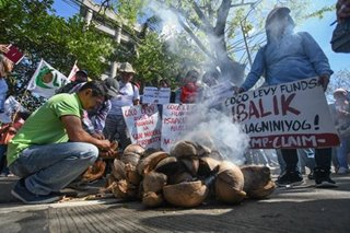 'No to coco levy privatization'
