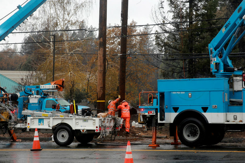 California utility PG&E replaces CEO amid bankruptcy worries
