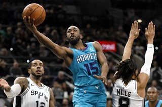 NBA: Walker, Lamb spur Hornets to road win at San Antonio