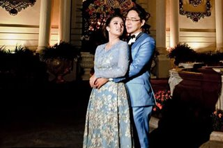 Kris Aquino gives Michael Cinco dress to Anthony Taberna's wife