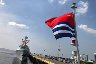 'New era': 3 Chinese warships in Manila for goodwill visit