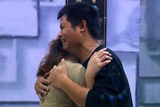 'PBB Otso': Apey's tearful reunion with half-brother Mark