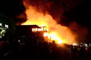 Fire razes commercial establishments in El Nido