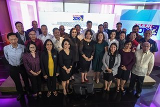 ABS-CBN News signs Halalan 2019 covenant with Comelec, partners