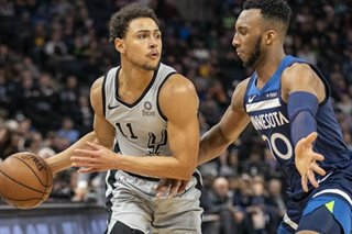 NBA: Belinelli, Aldridge lift Spurs over Timberwolves