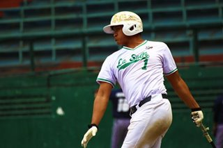 La Salle secures semis berth in PH Baseball League