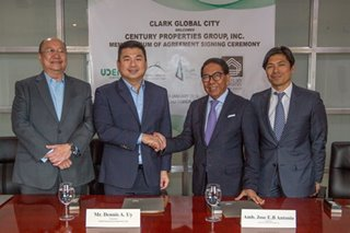 Century, Dennis Uy to form joint venture for Clark Global City project