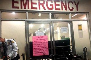 ER ng isang ospital sa Maynila, isinara dahil sa kaso ng umano'y 'meningococcemia'