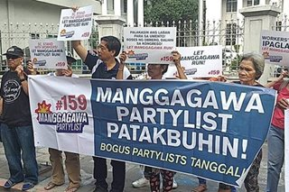 Labor party-list group urges SC to act on petition vs disqualification