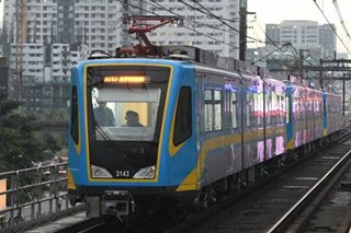 MRT tests third train from China's Dalian