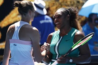Tennis: Williams stunned by Pliskova fightback at Australian Open