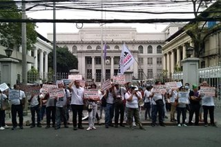 Health workers' group ask SC to reverse Comelec disqualification in midterm polls
