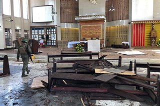 5 suspek sa Jolo church bombings hawak na ng pulisya